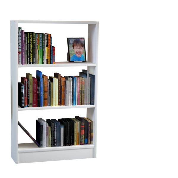 Bücherregal Cella Weiß