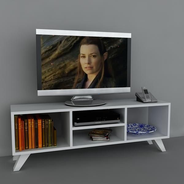 TV Lowboard Yaren Weiß