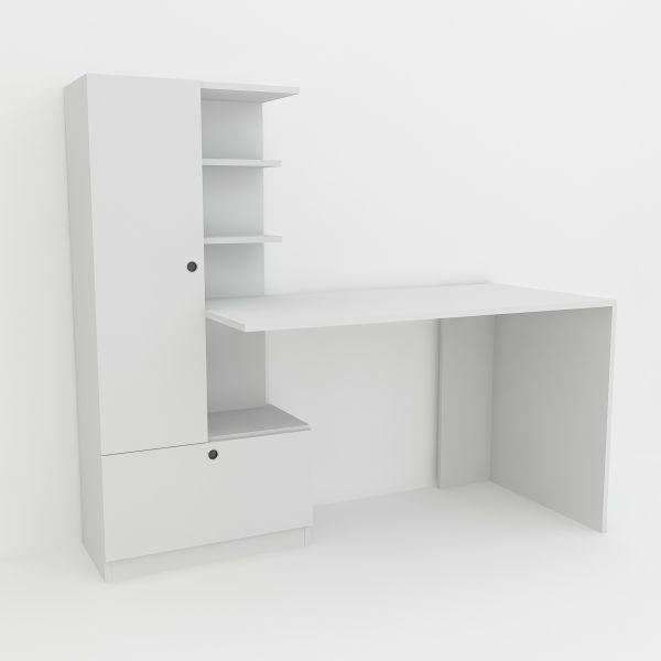 Schreibtisch Domingos Weiß günstig bei moebel17 kaufen