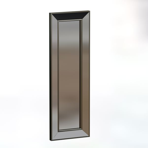 Spiegel Carlos 30x90cm Silber