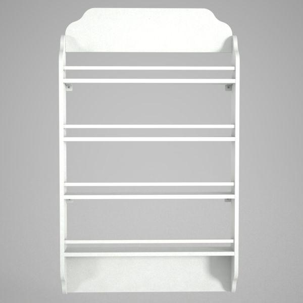 Bücherregal Montessori Weiß