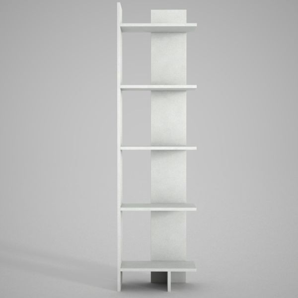 Bücherregal Perla Weiß