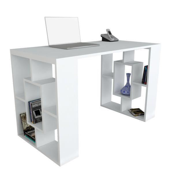 Schreibtisch Valancia Weiß