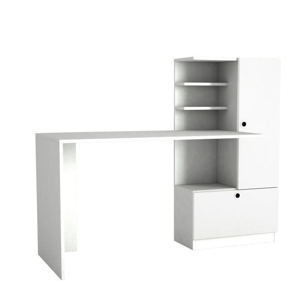 Schreibtisch Merinos Weiß