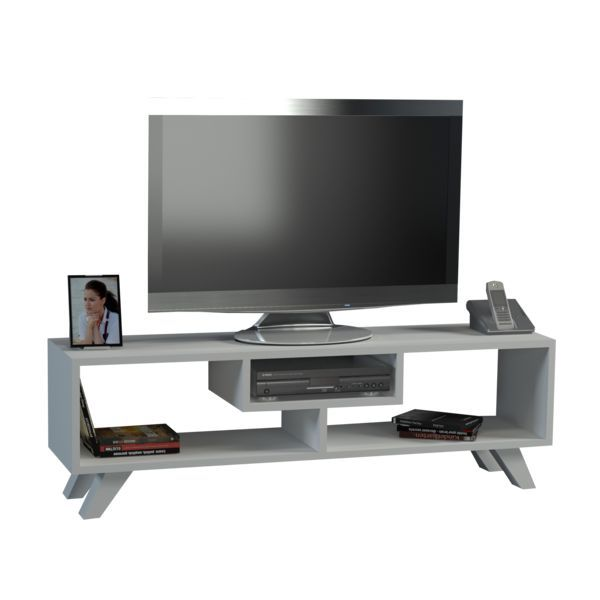 TV Lowboard Jordon Weiß