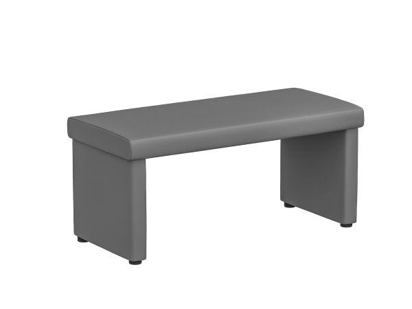 Sitzbank Aqua Grau