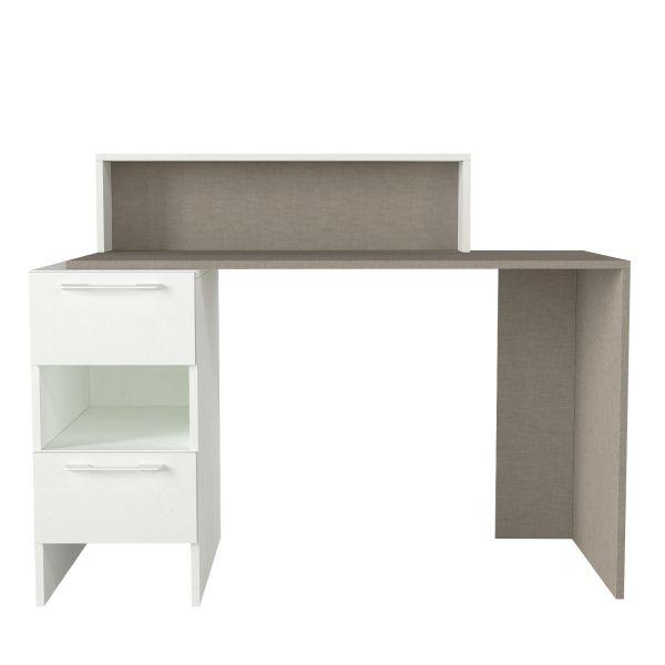 Schreibtisch Mikasa Weiß Grau