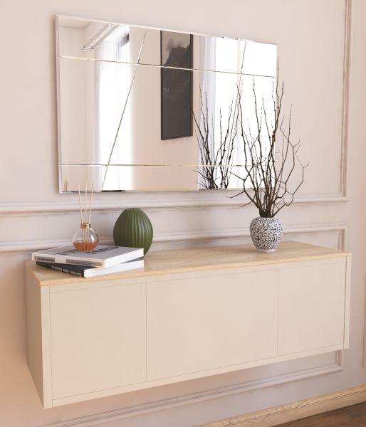 Spiegel Akol Asymmetrisches Design 50x75cm
