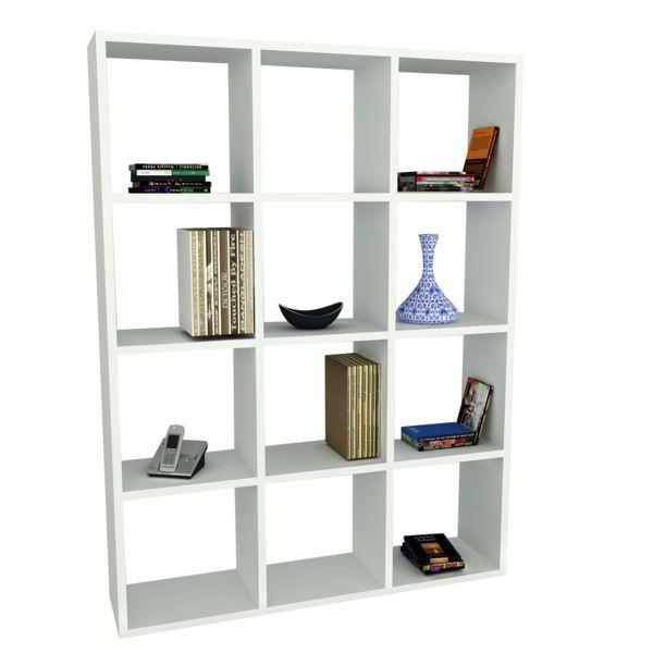Bücherregal Ultimate Weiß
