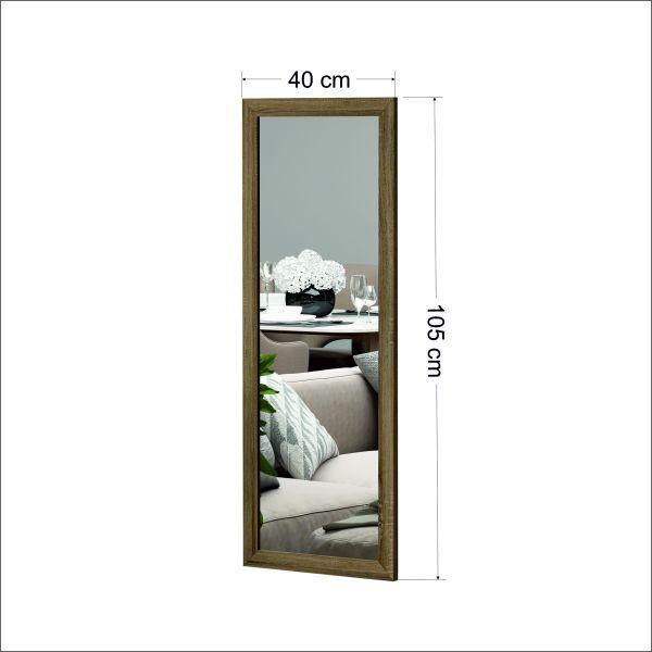 Spiegel Sonny 40x105cm Matt Eiche
