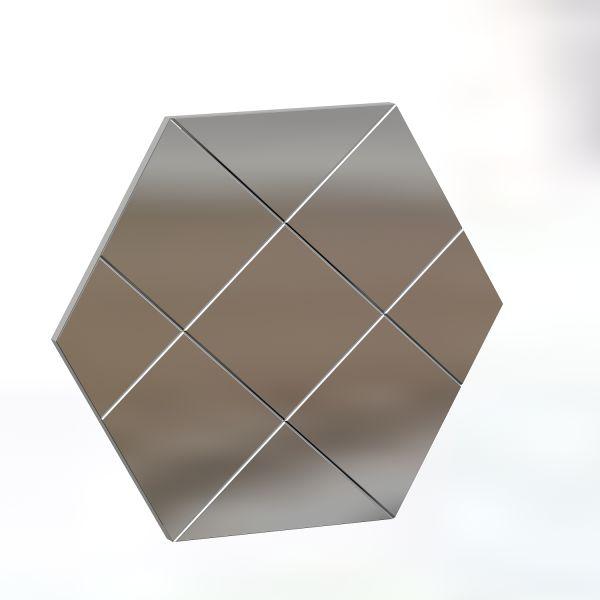 Spiegel Assa Karo Design 70x60cm