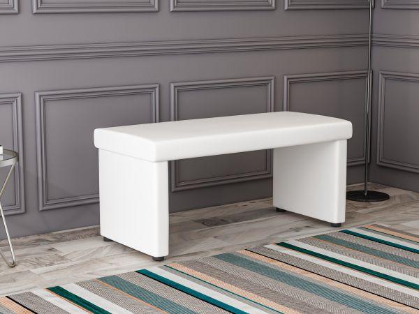 Sitzbank Aqua Weiß
