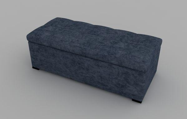 Sitzbank Albatros mit Stauraum Blau